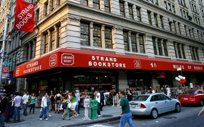 Bookstores: The Strand in New York City
